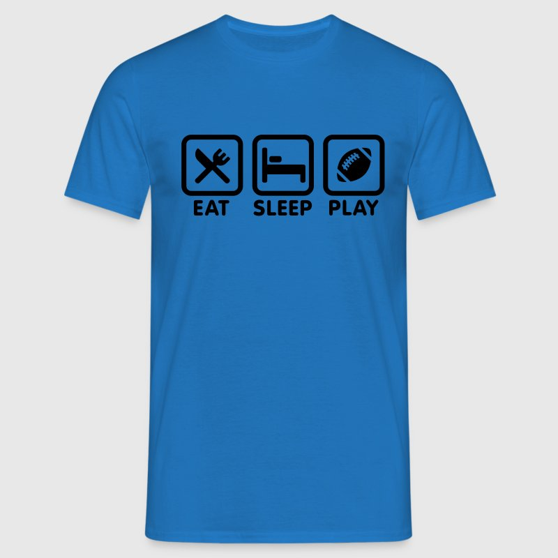 Eat Sleep Play Rugby / Football Kids' Shirts - Men's T-Shirt