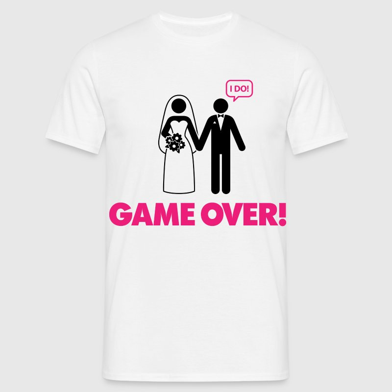 Game Over 3 (dd)++ Tee shirts - T-shirt Homme