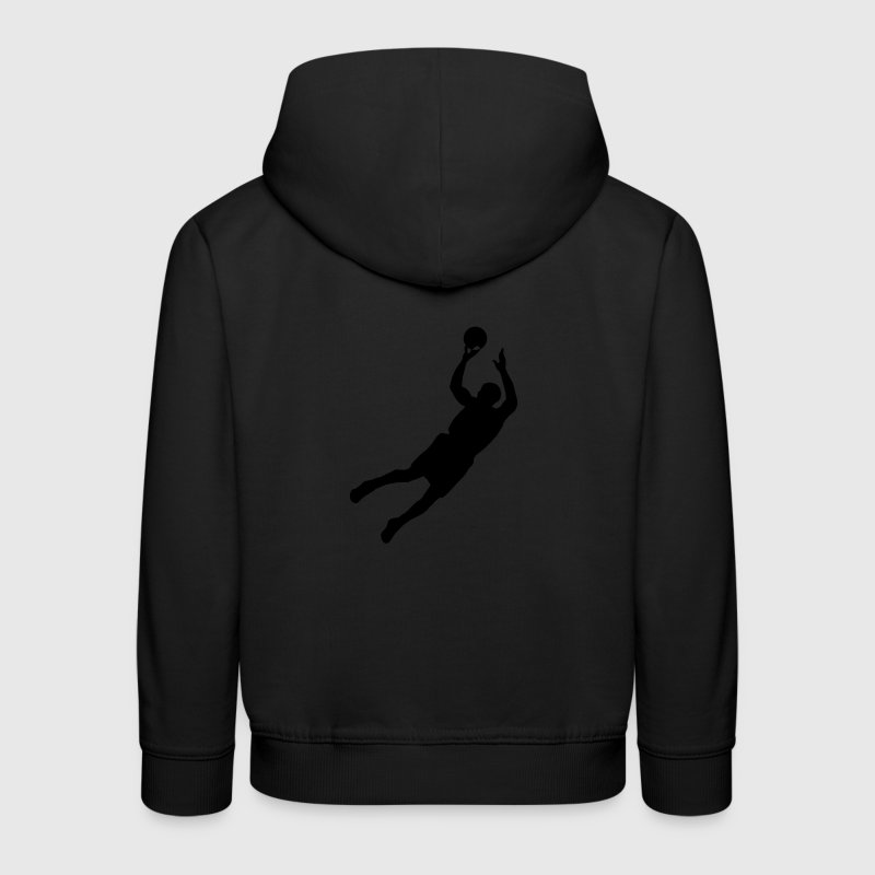 Men basketball - Pull à capuche Premium Enfant