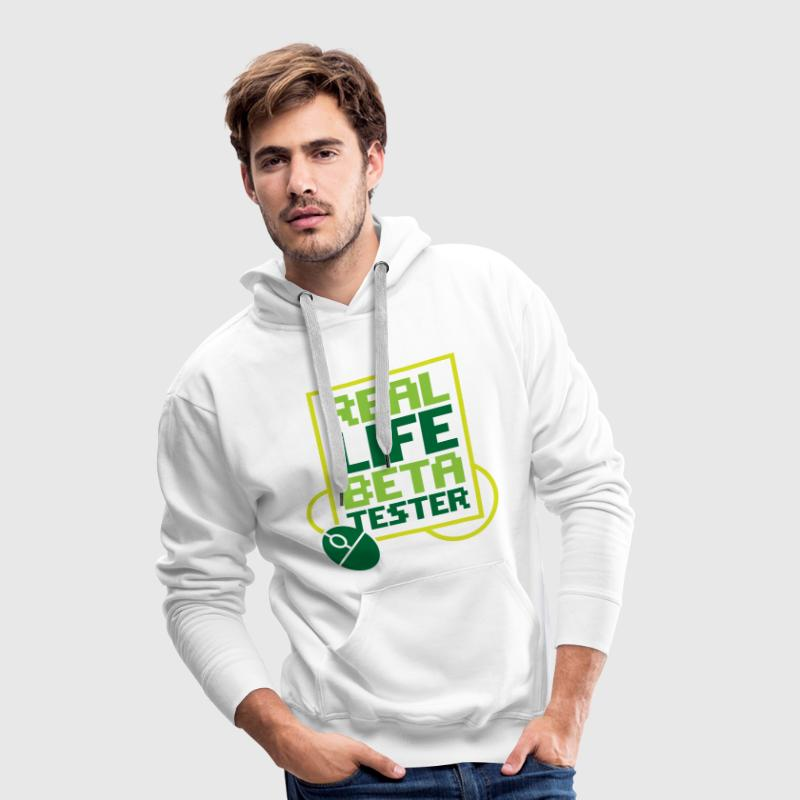 Real Life Beta Transfer 2 (dd)++ Hoodies & Sweatshirts - Men's Premium Hoodie