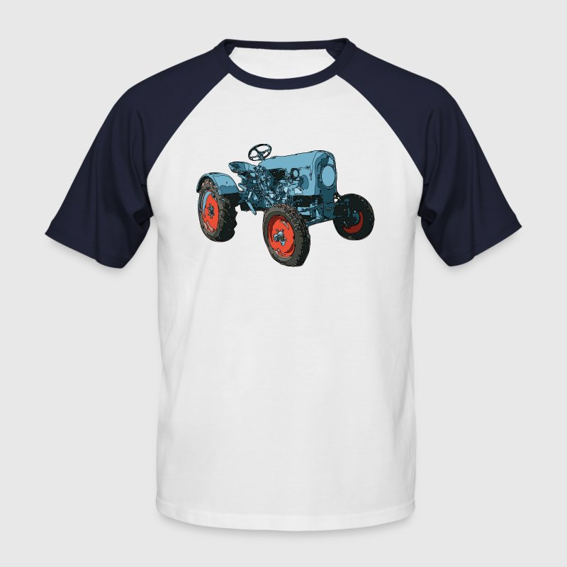 tracteur Tee shirts - T-shirt baseball manches courtes Homme
