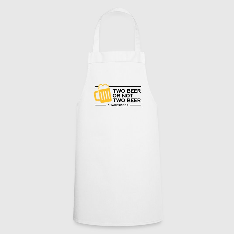 Two Beer Shakesbeer 1 (2c)++  Aprons - Cooking Apron