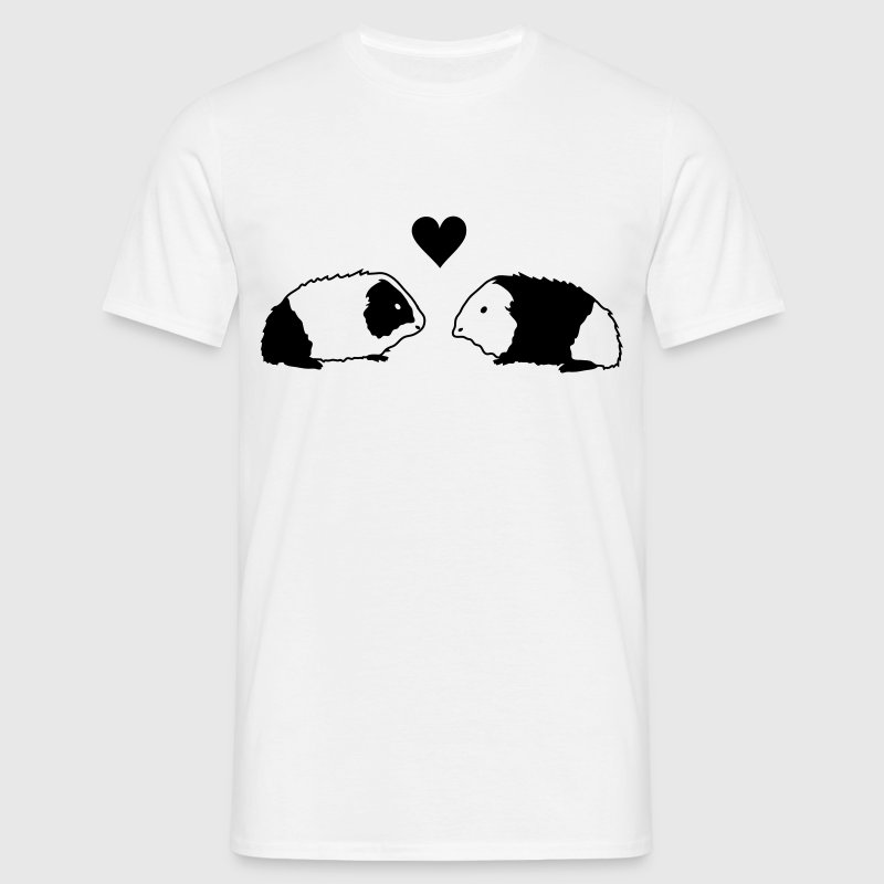 Cavia love T-shirts - Mannen T-shirt
