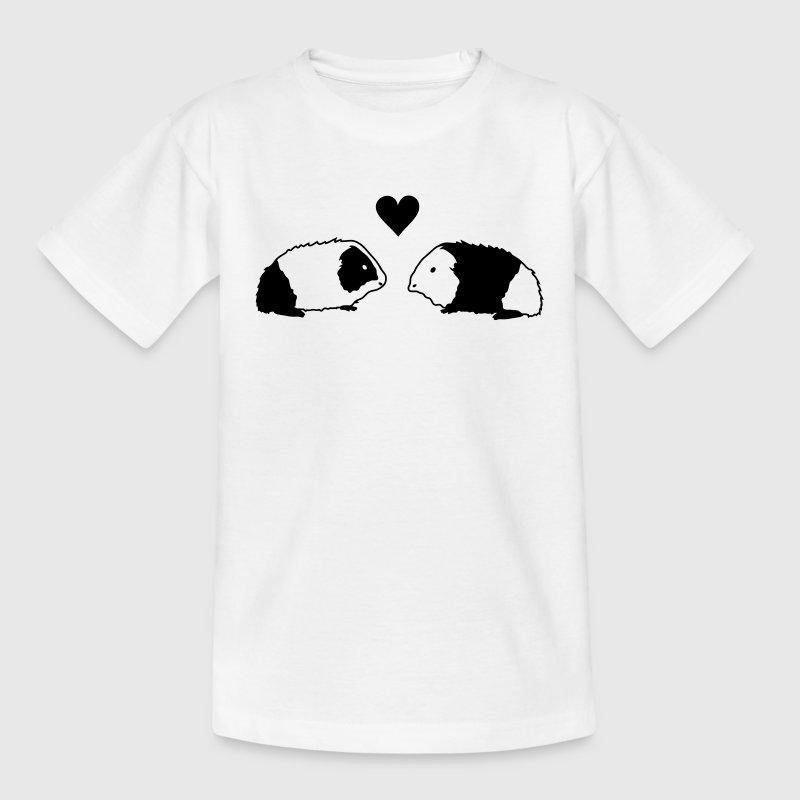Cavia love Kinder shirts - Teenager T-shirt