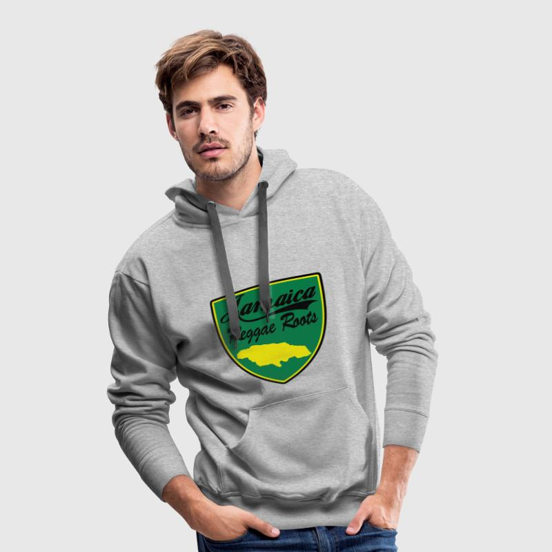 jamaica reggae roots Sweat-shirts - Sweat-shirt à capuche Premium pour hommes