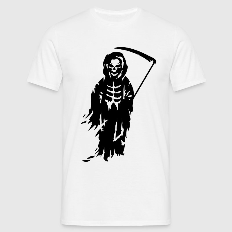 A Grim Reaper - Death with a scythe T-Shirts - Men's T-Shirt