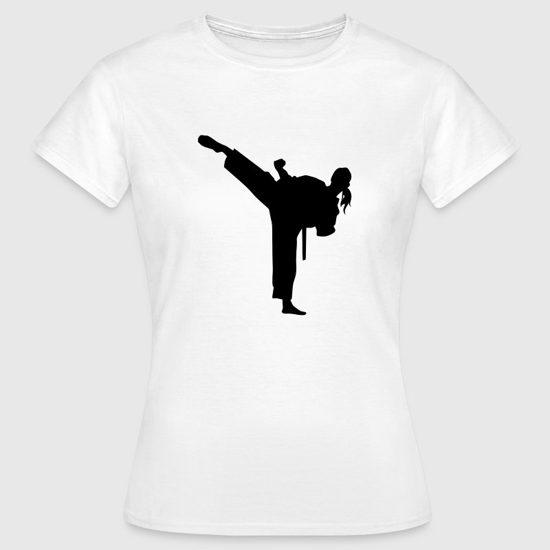 Karate T-shirt - Frauen T-Shirt