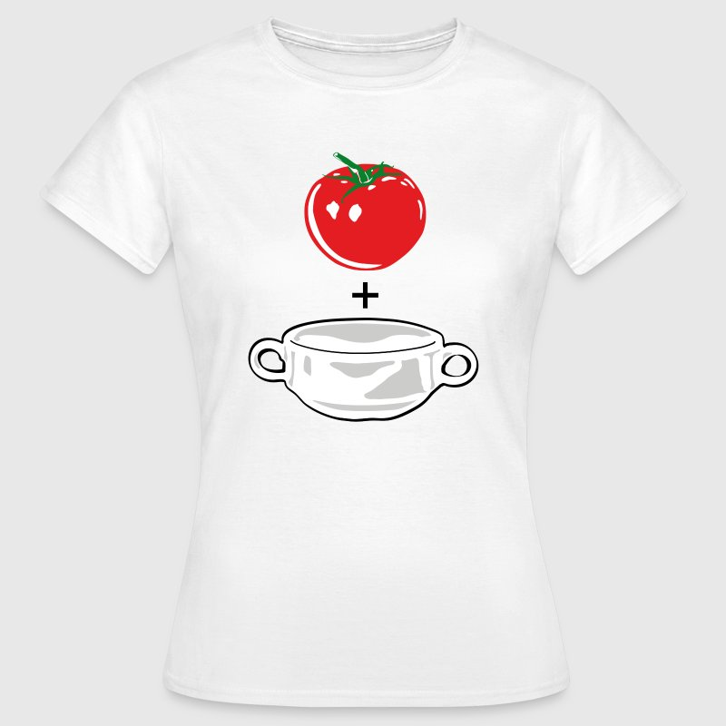 tomato soup T-Shirts - Frauen T-Shirt