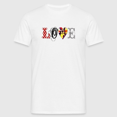 Love Cats - Männer T-Shirt