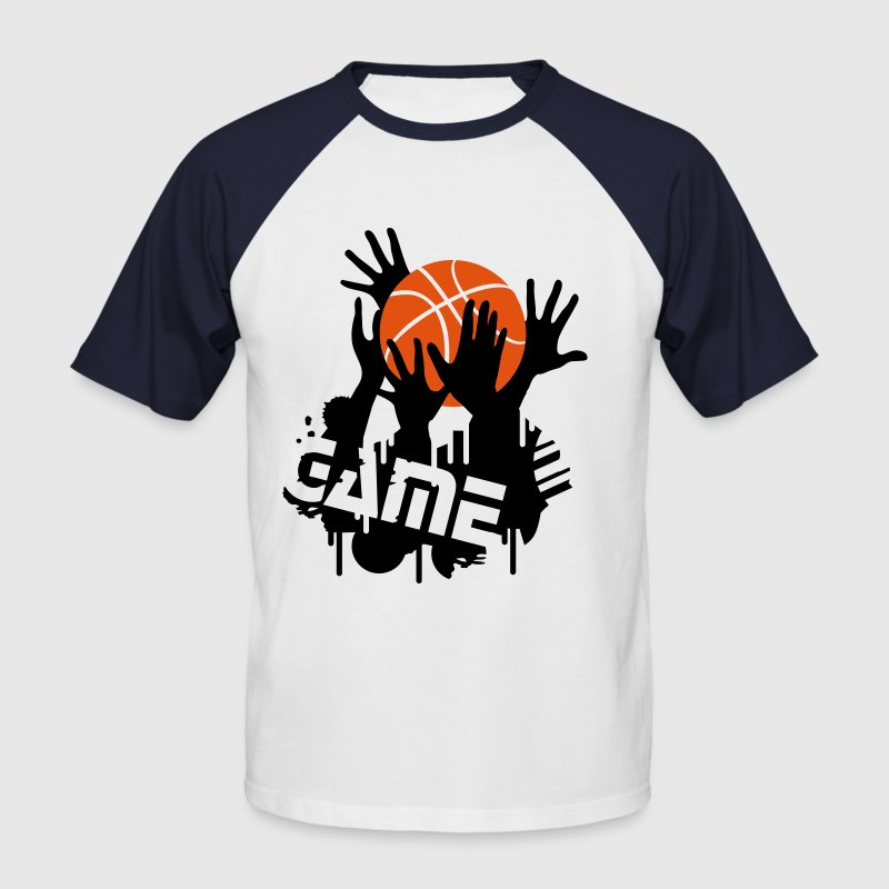 basketball game T-Shirts - Men's Baseball T-Shirt