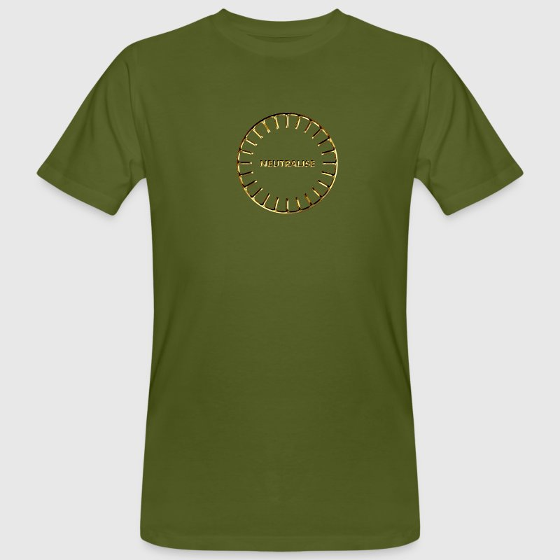 BOOST YOUR ENERGY, Neutralise, Gold, Sanjeevini, Please activate your symbol! T-Shirts - Männer Bio-T-Shirt