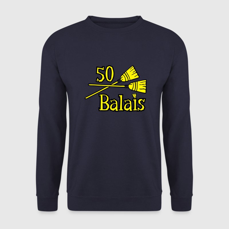 50 balais ans Sweat-shirts - Sweat-shirt Homme