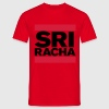 SRIRACHA / Glow in the Dark - Men's T-Shirt