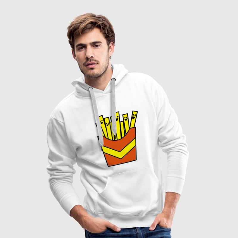 Pommes / French Fries Pullover - Männer Premium Hoodie