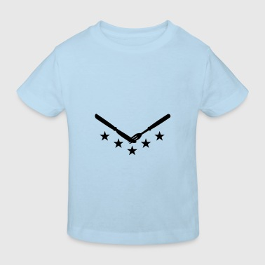 knife_and_fork Accessoires - Kinderen Bio-T-shirt