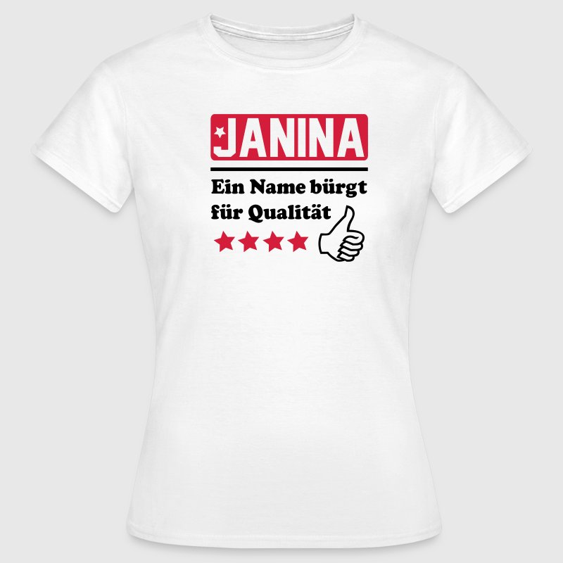 janina T-Shirts - Frauen T-Shirt