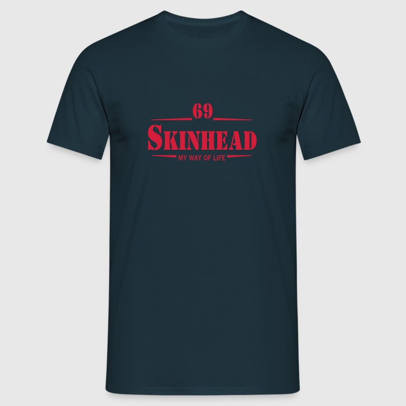 1 colors - Skinhead My Way of Life Skinheads Bootboys Rudeboys Skins Oi! Pullover - Männer T-Shirt