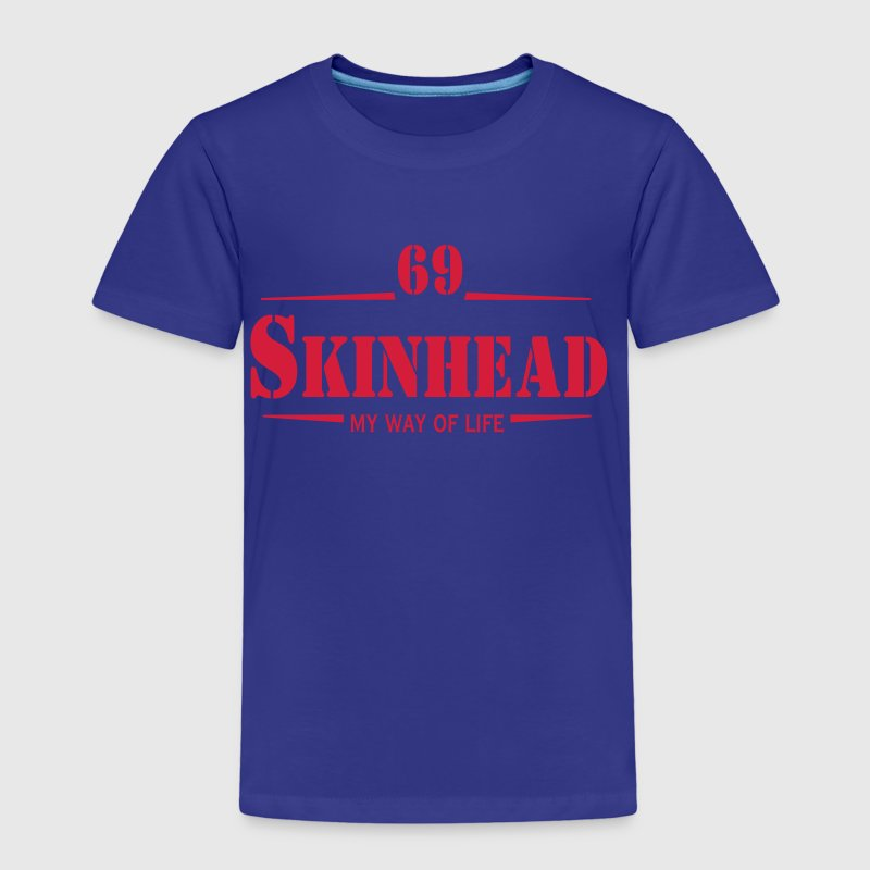 1 colors - Skinhead My Way of Life Skinheads Bootboys Rudeboys Skins Oi! Pullover - Kinder Premium T-Shirt