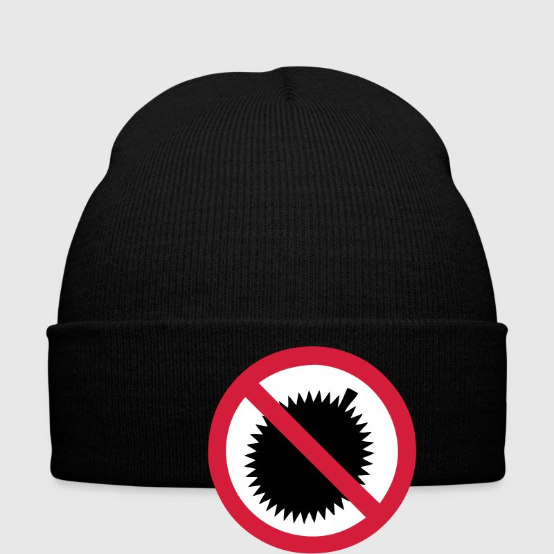 NO Durian Fruit Sign 2 - Winter Hat