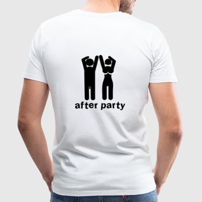 after party naked man and woman with willy and boobs Kids' Tops - Men's Premium T-Shirt
