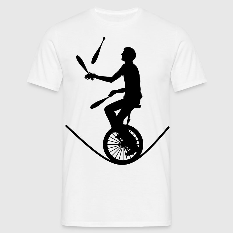 Monocycle jongleur - T-shirt Homme