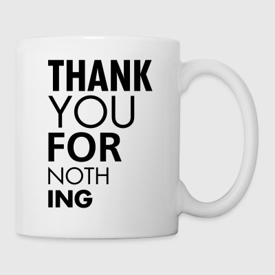 Thank you for nothing Taschen - Tasse
