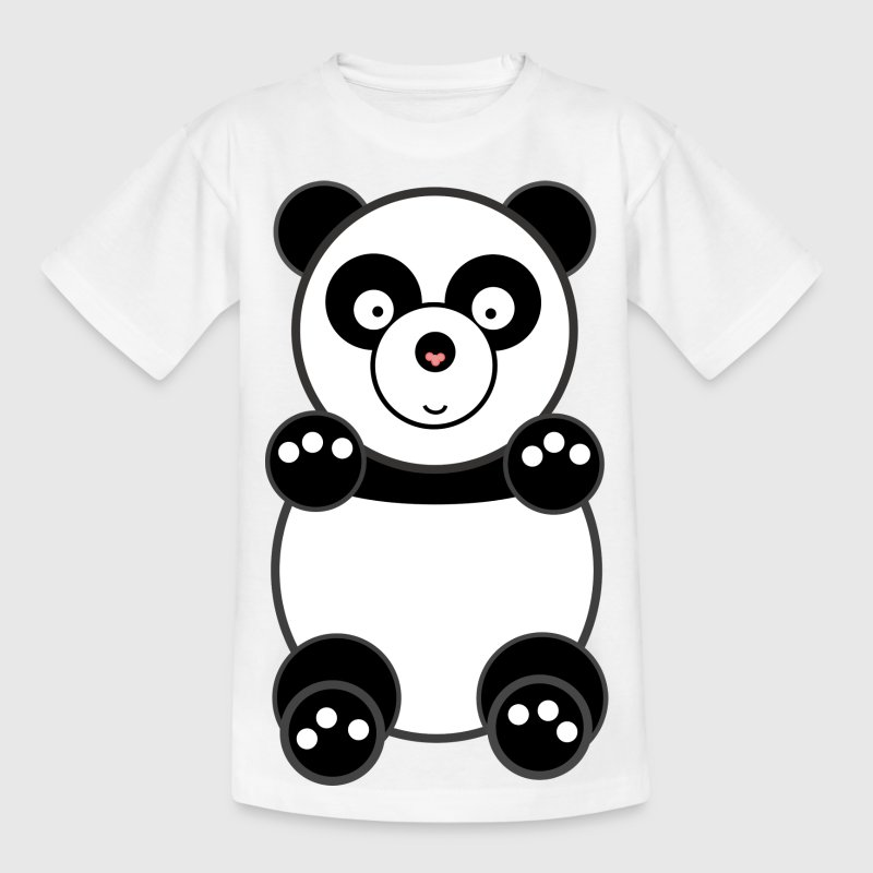 panda Kinder shirts - Teenager T-shirt