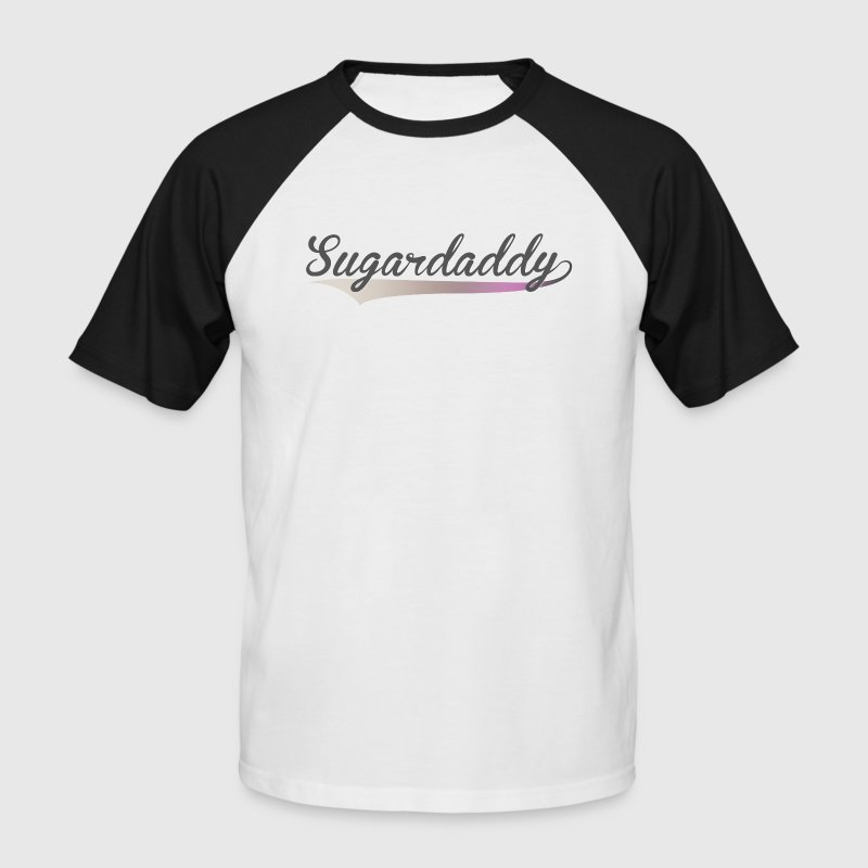Sugardaddy - Männer Baseball-T-Shirt