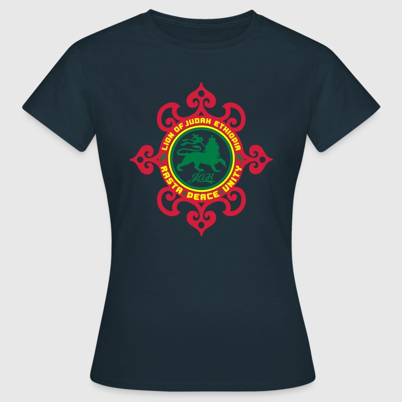 lion of judah ethiopia rasta peace unity T-Shirts - Women's T-Shirt