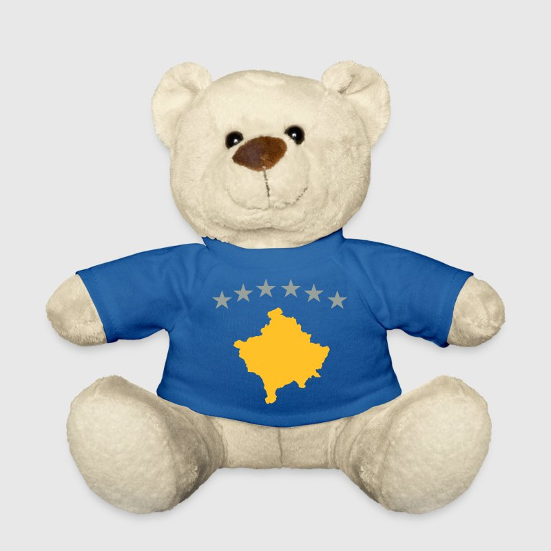 Kosovo Flag Teddies - Teddy Bear