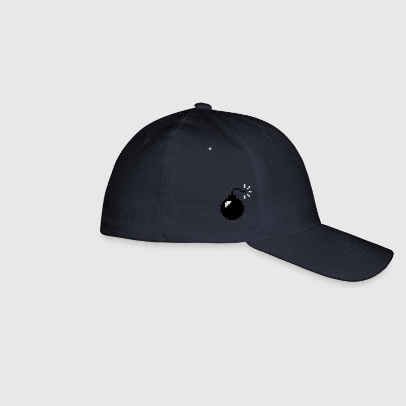 8-bit Bomb Caps & Hats - Flexfit Baseball Cap
