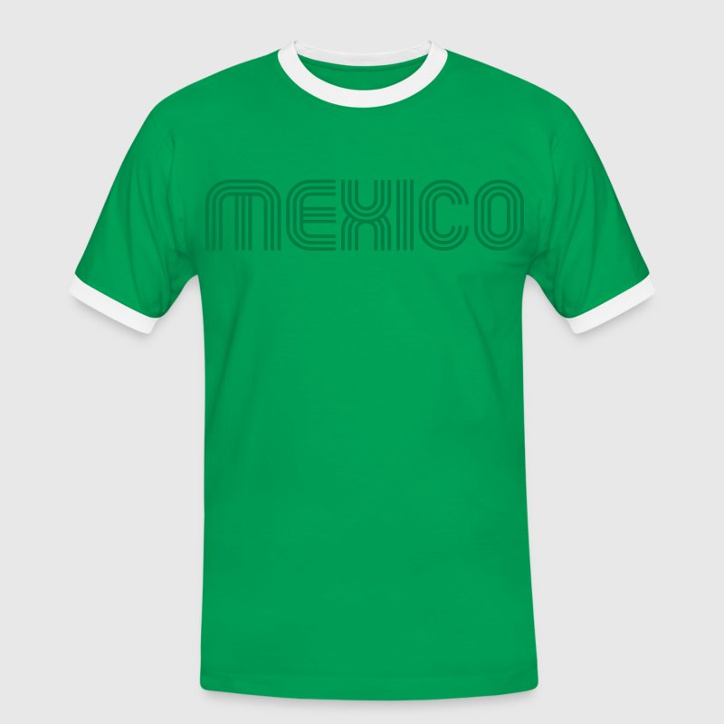 mexico 70 Font Lounge - Men's Ringer Shirt