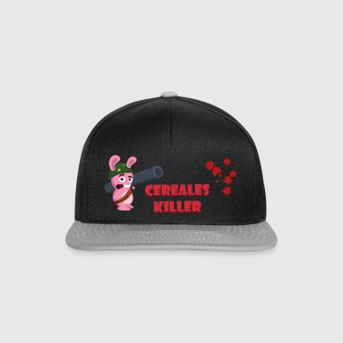 ct2c_lapin_bazooka_cereales_killer Sacs - Casquette snapback