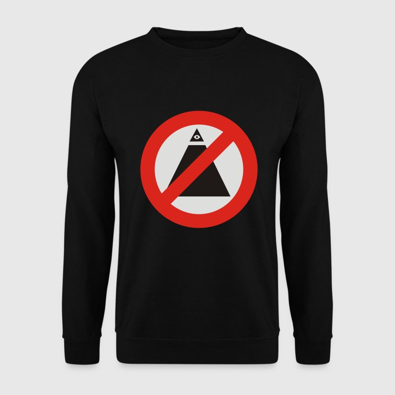 Anti-illuminati - Sweat-shirt Homme