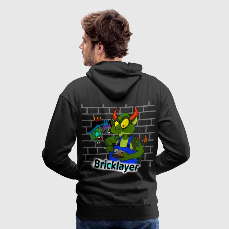 bricklayer Hoodies & Sweatshirts - Men's Premium Hoodie