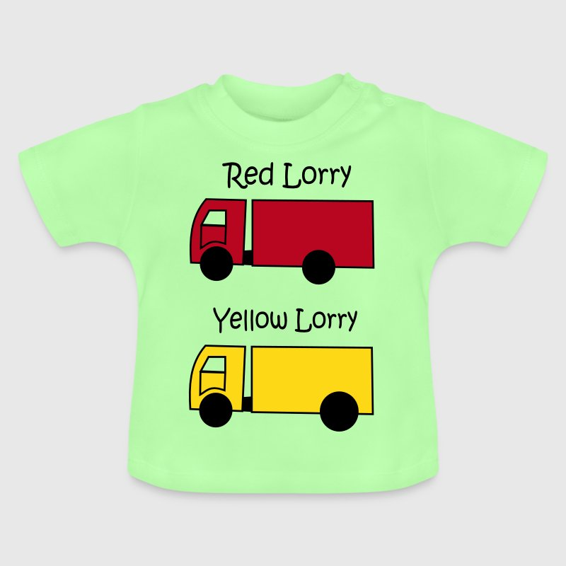 Red Lorry Yellow Lorry Baby Shirts  - Baby T-Shirt