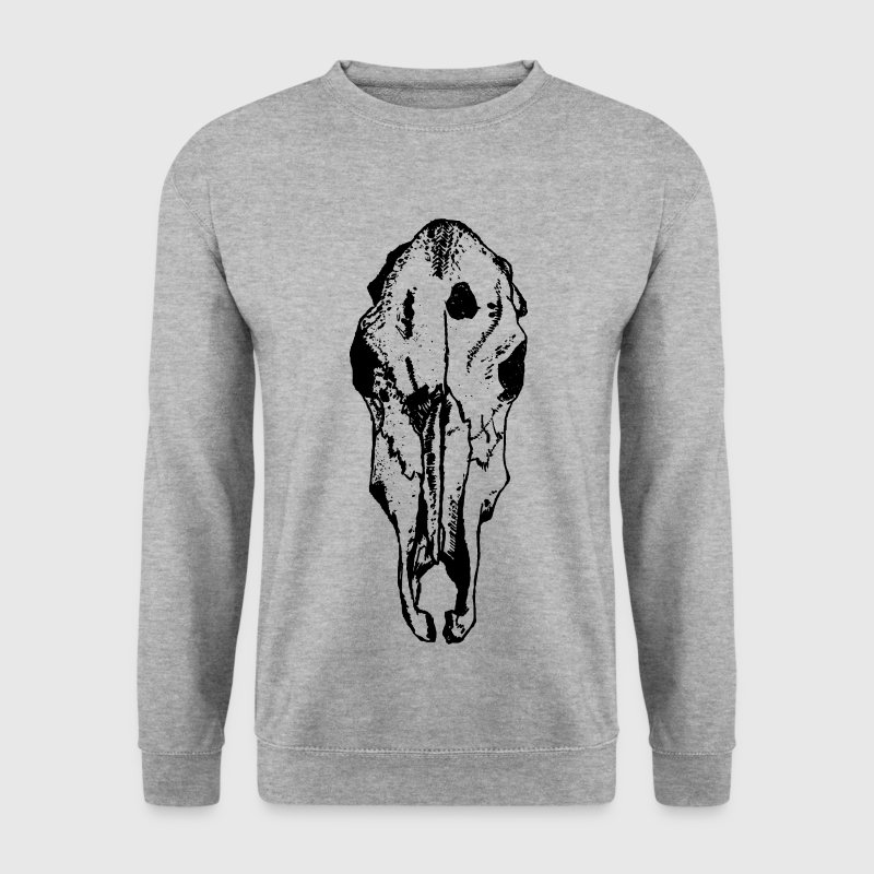 animal skull Hoodies & Sweatshirts - Men's Sweatshirt