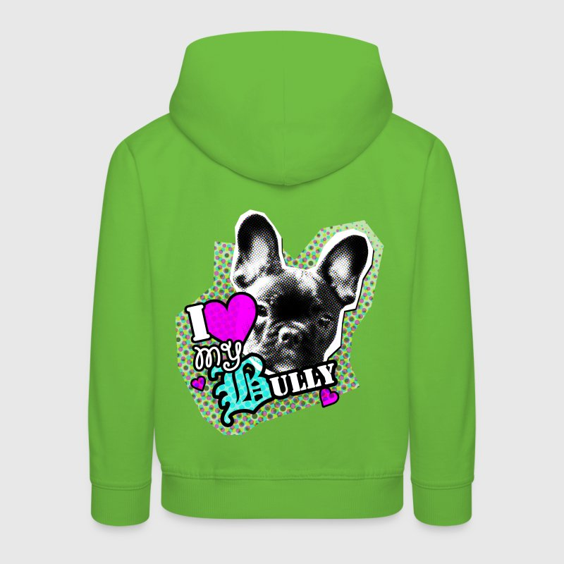 Bully - bouledogue français - Amour Sweats Enfants - Pull à capuche Premium Enfant