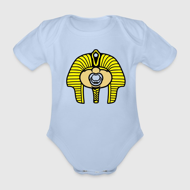 pharaoh Baby Bodysuits - Organic Short-sleeved Baby Bodysuit