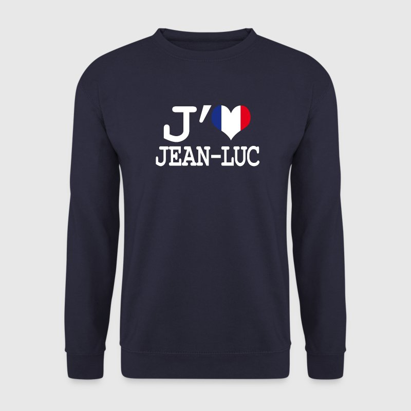 j'aime jean-luc Sweat-shirts - Sweat-shirt Homme