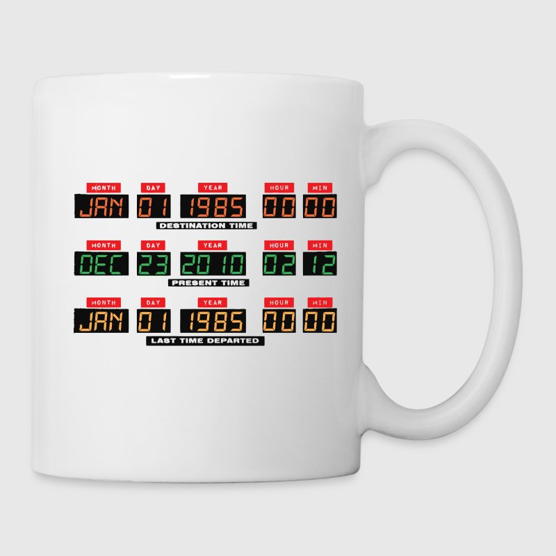 Back To The Future I Time Travel Date Console Coffee Mug - Mug