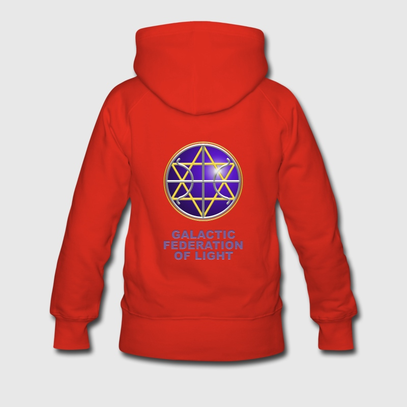 SEAL - FEDERATION OF LIGHT, digital, planet, alliance, star, nation, icon, symbol, symbols Pullover - Frauen Premium Hoodie