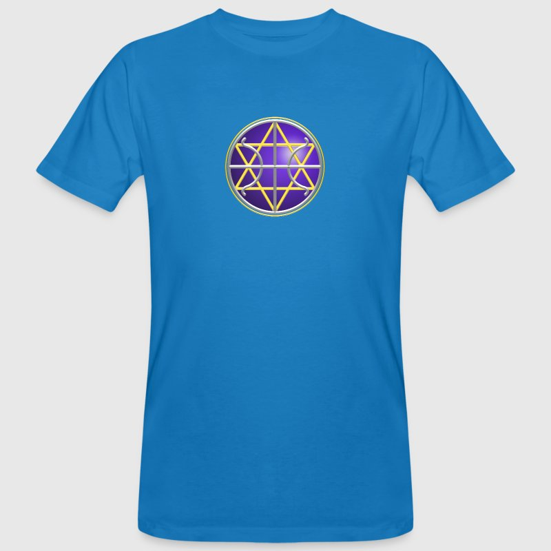 SEAL - GALACTIC FEDERATION OF LIGHT, digital, planet, alliance, star, nation, icon, symbol, symbols T-Shirts - Men's Organic T-shirt