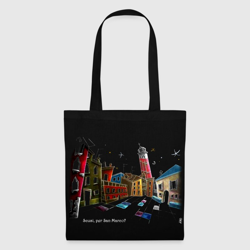 Campo Sant'Angelo in Venice Italy - Tote Bag