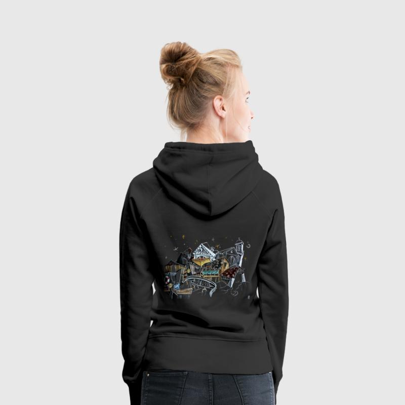 Honey Moon Gondola Dream - Venice Italy - Women's Premium Hoodie