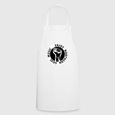 Digital - Enjoy Northern Soul Music - nighter keep the faith Buttons - Cooking Apron