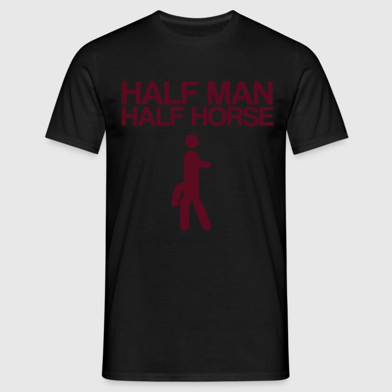 Half Man Half Horse - Men's T-Shirt
