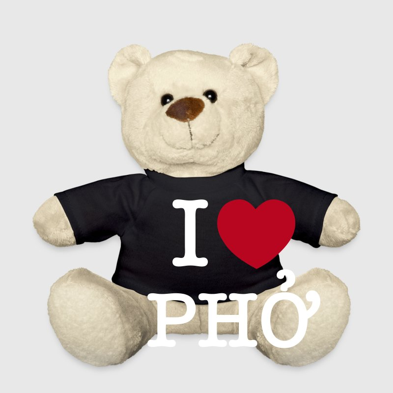 I Heart (Love) Pho - Teddy Bear