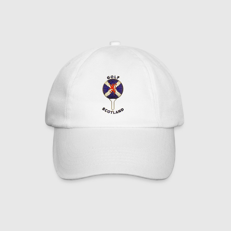 golf scotland crest_a Caps & Hats - Baseball Cap