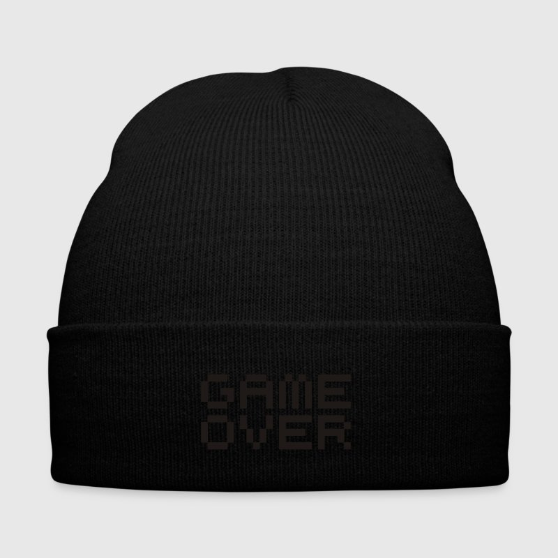 Game over / game over pixels Caps & Hats - Winter Hat